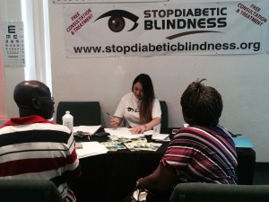 Stop Diabetic Blindness Health Fair August 9, 2014